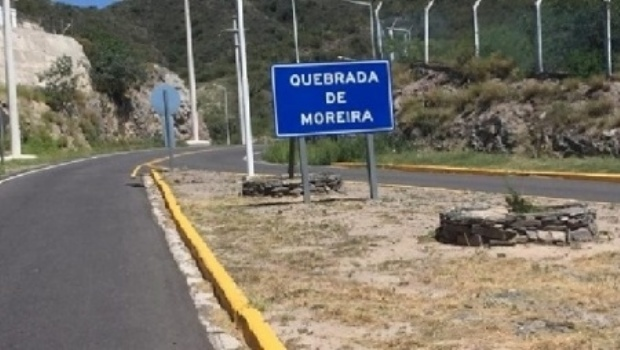 Grave accidente en la Quebrada de Moreira